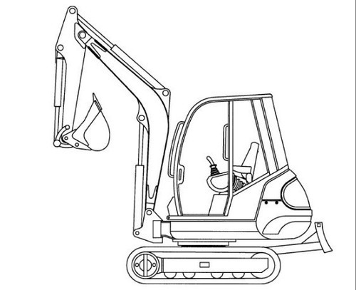 Gehl 272-292 Mini Excavator Illustrated Master Parts List