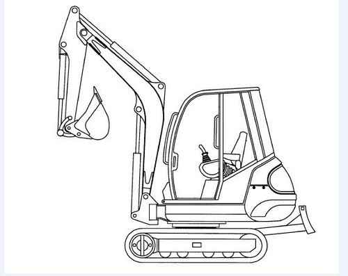 Gehl 342-362 Mini Excavator Illustrated Master Parts List