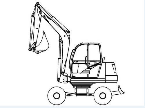 Gehl 652 Compact Excavator Illustrated Master Parts List