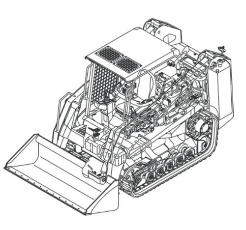 Free Gehl CTL55 Compact Track Loader Parts Manual DOWNLOAD