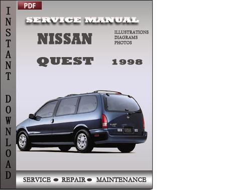 Nissan Quest 1998 Factory Service Repair Manual Download
