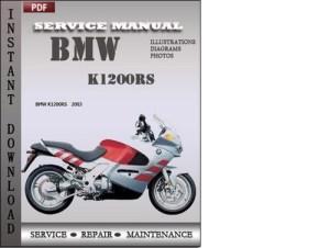 BMW K1200RS Factory Service Repair Manual Download