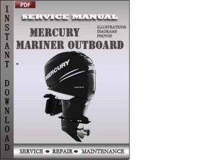 Mercury Mariner Outboard 40 50 55 60 HP 2stroke Factory Service Re