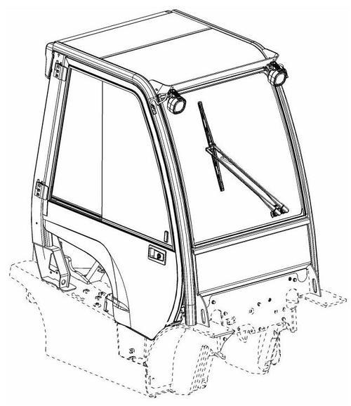 Hyster L177, N005, P005, H006, J006 Operator Cab Manual