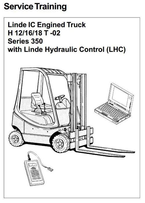 Free Linde IC-engined Ex-proof Forklift Truck 351-02