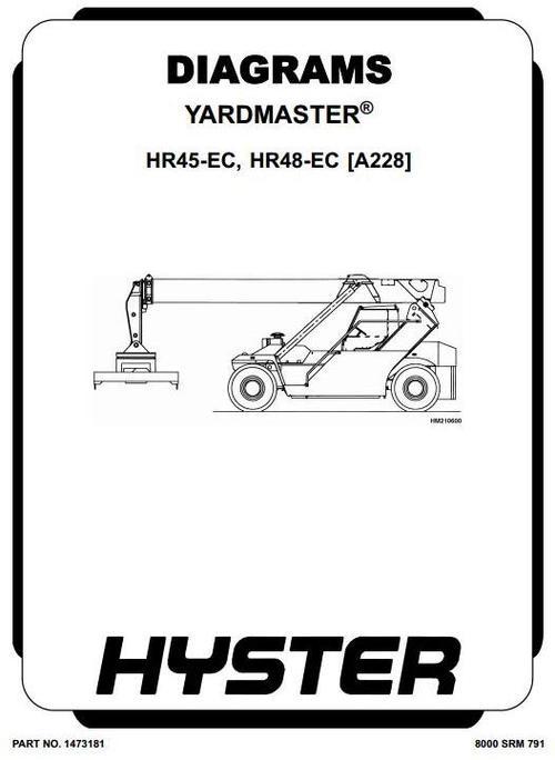 Free Hyster B222 (HR45-27, HR45-31, HR45-36, HR45-40, HR45