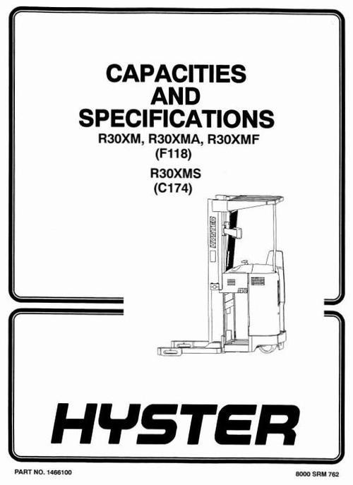 Free Hyster C174 (R30XMS) Forklift Complete Workshop