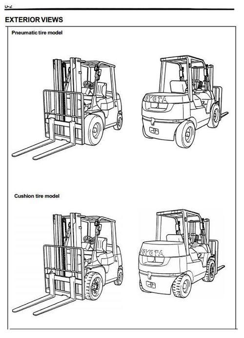 Toyota LPG Forklift Truck 7FGU15, 7FGU18, 7FGU20, 7FGU25
