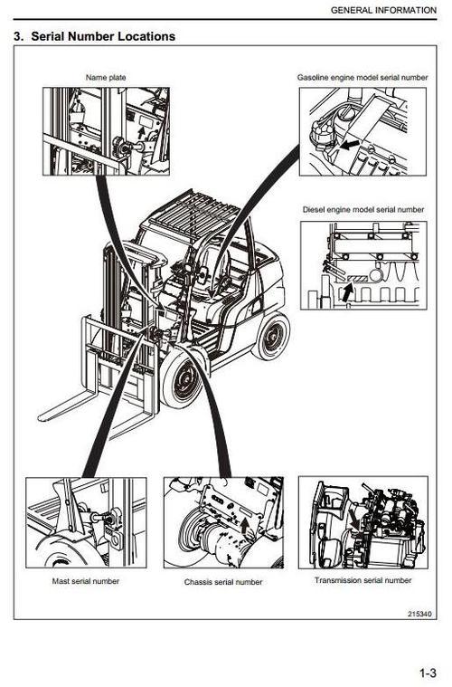 Free CAT Diesel Forklift Truck DP15N, DP18N, DP20N, DP20CN