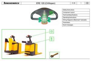 Jungheinrich Electric stacker Type ERE 120 (05200807