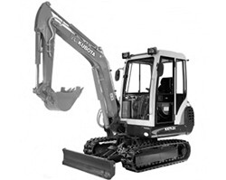 Kubota KX151 Mini Excavator Illustrated Parts Book Manual