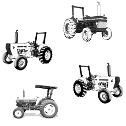 Ford New Holland 335 Industrial Tractors Workshop Service