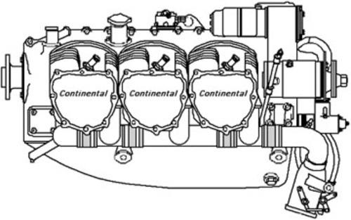 Continental Aircraft TSIO-470 Series Engine Operator