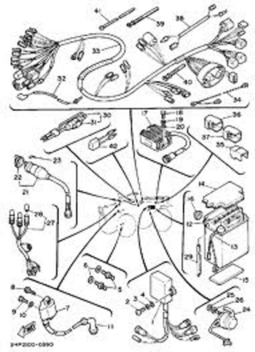 1987-1990 Yamaha ATV YFM350ER Master Service Manual