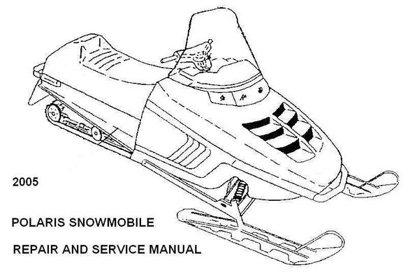 Polaris Snowmobile 2005 Repair Service Manual RMK