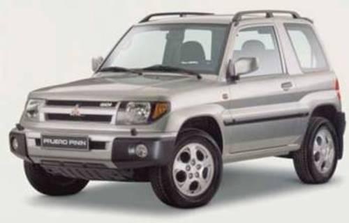 1999 Mitsubishi Pajero Owners Manual