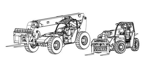 XTREME Forward Reach Forklifts XR620 / XR621 / XR842