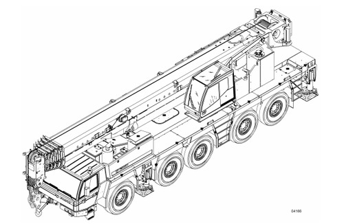 TADANO FAUN ATF 160G-5 CRANE SERVICE REPAIR MANUAL