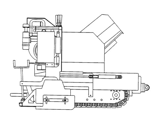 GEHL T650B, T650BD POWER BOX Self-Propelled Paver Parts