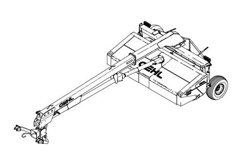 GEHL 2512 Impeller Disc Mower Conditioner Parts Manual