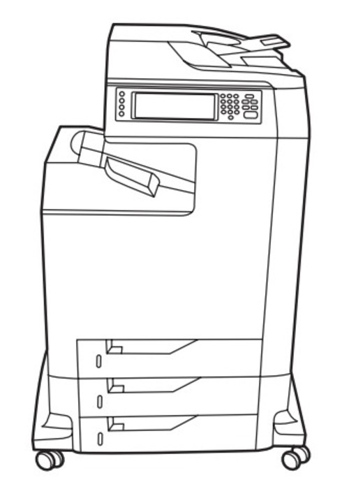 HP Color LaserJet 4730mfp series Service Repair Manual