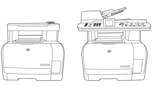 HP Color LaserJet CM1312 MFP Series Service Repair Manual