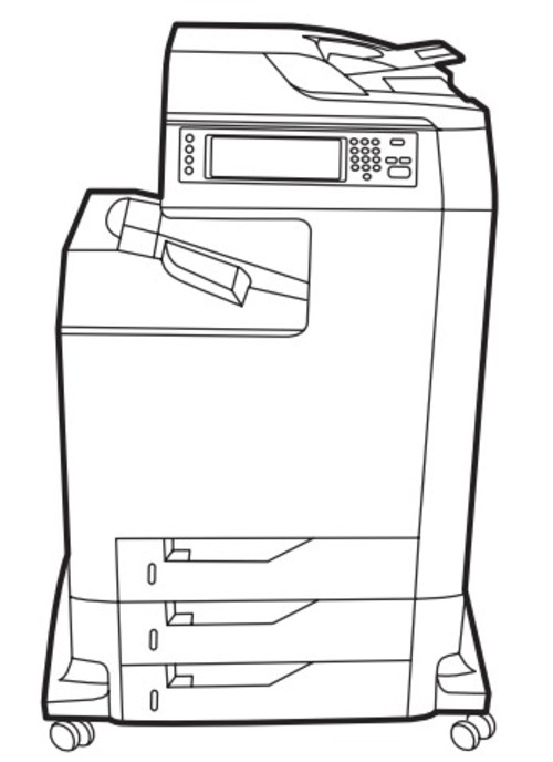 HP Color LaserJet CM4730 MFP Service Repair Manual