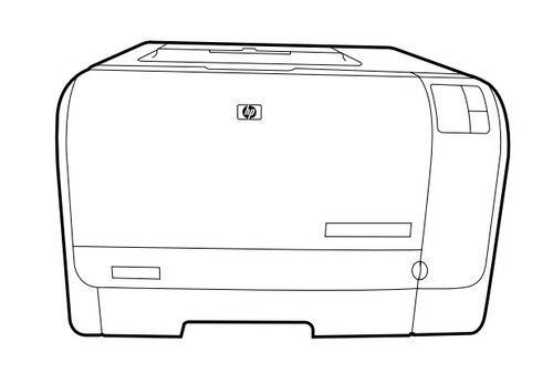 HP Color LaserJet CP1210, CP1510 Series Printers Service