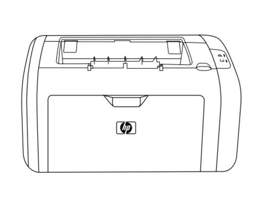 HP LaserJet 1010, 1012, 1015, 1020 series printer Service