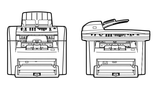 HP LaserJet 3050/3052/3055 All-in-One Service Repair
