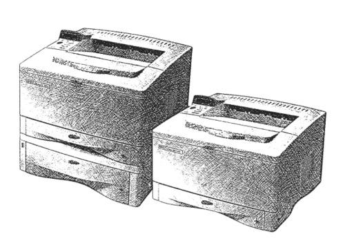 HP LaserJet 5000, 5000 N, 5000 GN Printers Service Repair