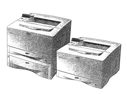 HP LaserJet 5000, 5000 N, 5000 GN, 5000 LE Printers
