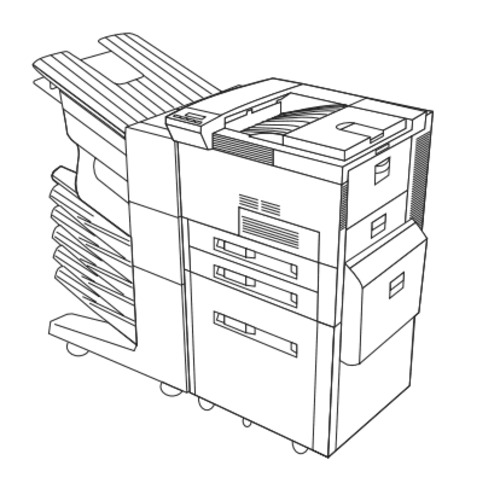 HP LaserJet 8100, 8100 N, 8100 DN, Paper Handling Devices