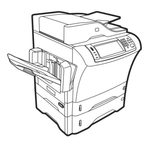 HP LaserJet M4349x MFP Series Service Repair Manual