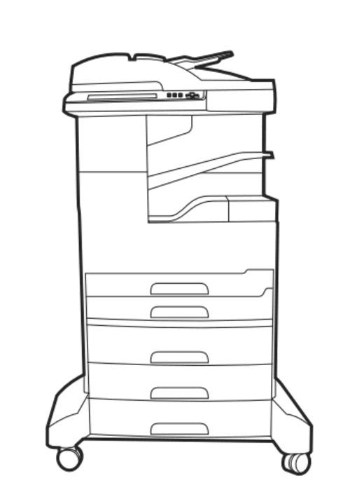 HP LaserJet M5039XS MFP Series printer Service Repair