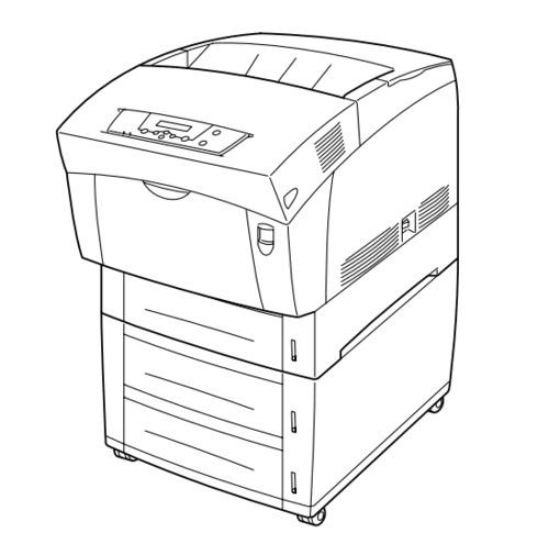 FUJI XEROX DocuPrint C1618 Electro-photographic laser
