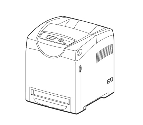 FUJI XEROX DocuPrint C3210DX, C2100 Color Laser Printer