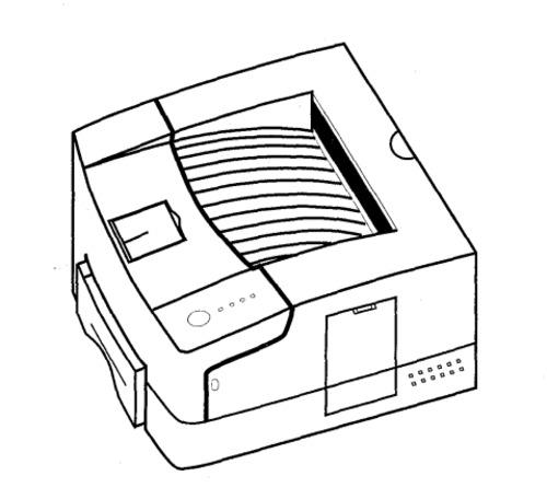 Xerox DocuPrint 4508 Electronic Laser Printer Service