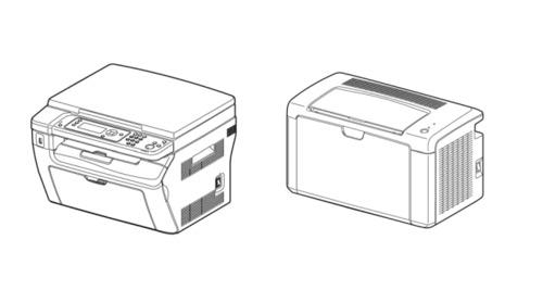 Fuji Xerox DocuPrint M205b / M105ab / M105b / P205b