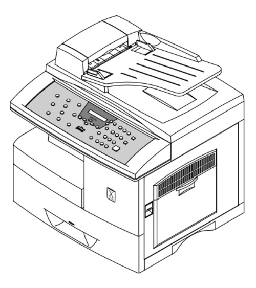 Xerox WorkCentre Pro 412 Printer Service Repair Manual