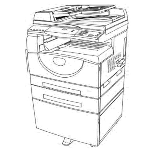 Xerox WorkCentre 5016, 5020 Multifunction Printer Service