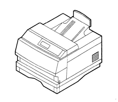 Xerox 4505 / 4510 Electronic Laser Printer Service Repair