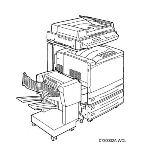 Xerox Phaser 790 / DocuColor 2006 Copier/Printer Service