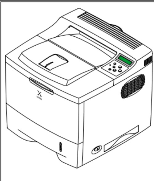 Xerox Phaser 3450 Laser Printer Service Repair Manual