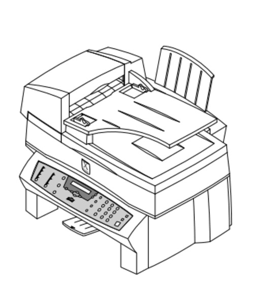 Xerox WorkCentre XK50cx Inkjet Printer Service Repair