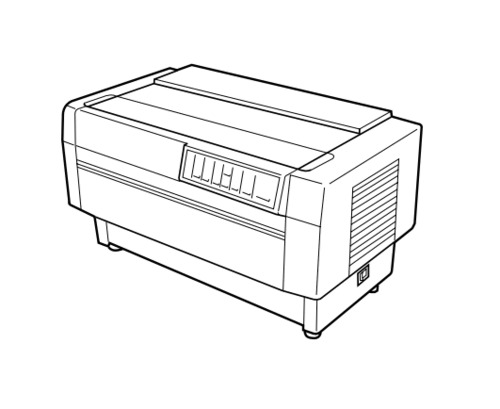 EPSON DFX-8500 IMPACT SERIAL DOT MATRIX PRINTER Service