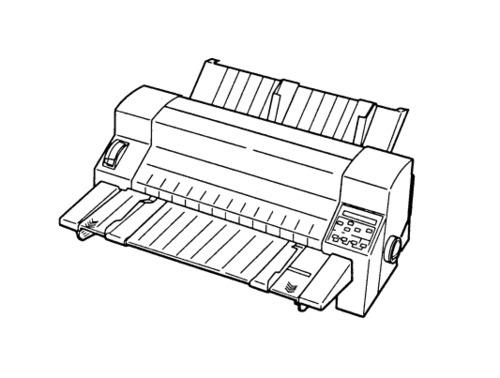 Epson DLQ-3000 Terminal Printer Service Repair Manual