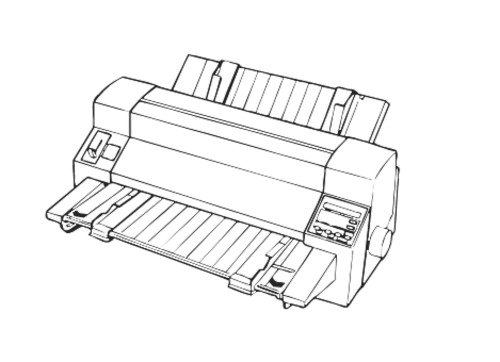 EPSON DLQ-3000+ 24-PIN DOT MATRIX PRINTER SERVICE REPAIR