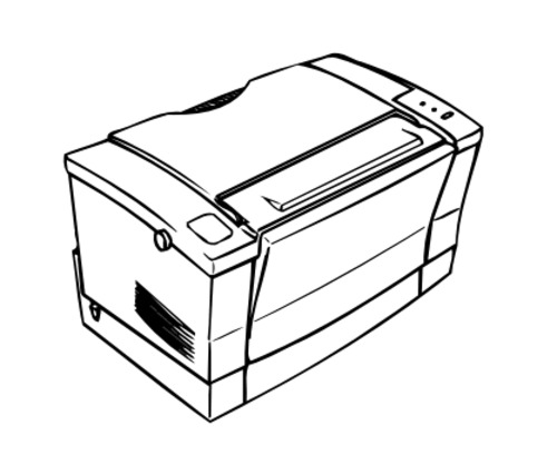 Epson EPL-5500W Terminal Printer Service Repair Manual