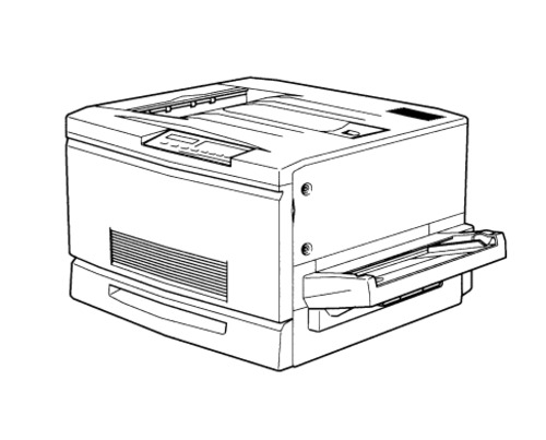 Epson ColorPage EPL-C8000 Color Laser Printer Service